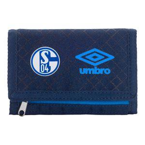 umbro FC Schalke 04 - Geldbörse Ux Accuro Wallet Portemonnaie - 35439U-GX9 navy/blau