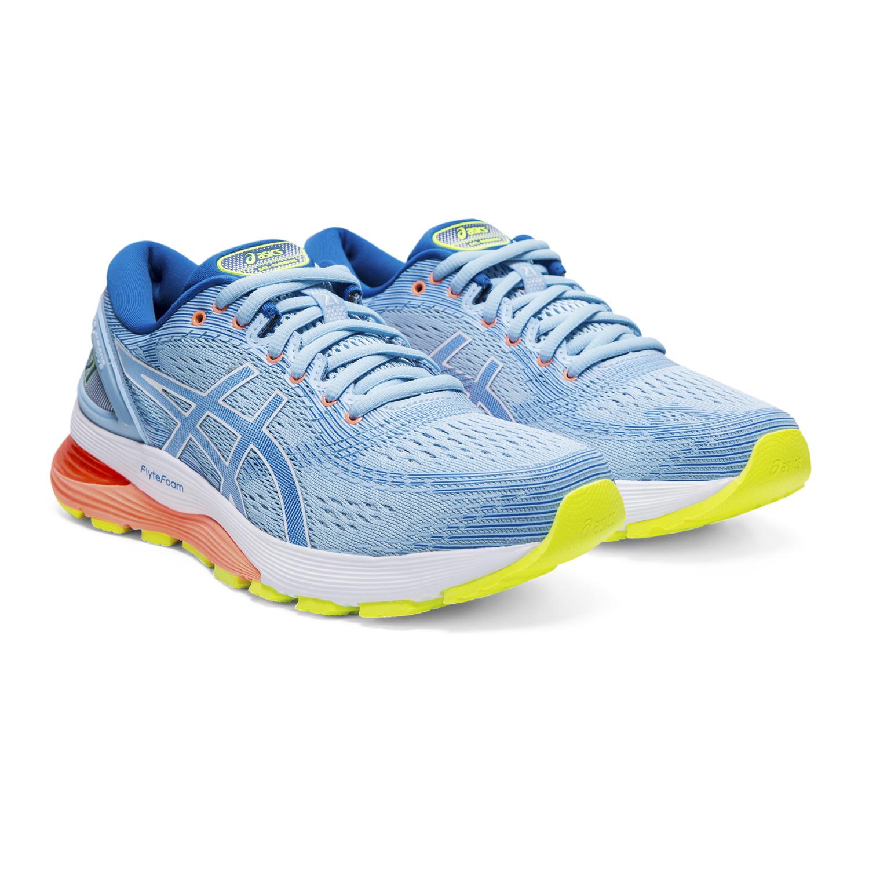 Asics Gel-Nimbus 21 - Damen Laufschuhe Running Schuhe - 1012A156-402 ...