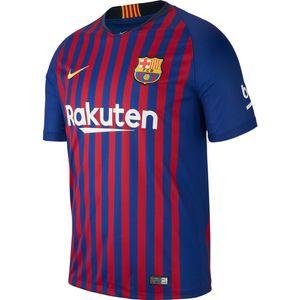 Nike FC Barcelona Herren Heimtrikot 18/19 - 894430-456 rot/blau