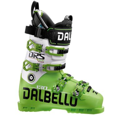 Dalbello DRS 130 Uni Race Skistiefel Skischuhe Ski Boot - lime/white DDRS1307.LW