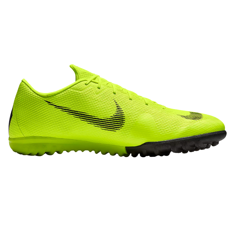 dirt cheap good quality best sneakers Nike MercurialX Vapor XII Academy TF - Herren Fußballschuhe Multinocken -  AH7384-701 gelb/schwarz