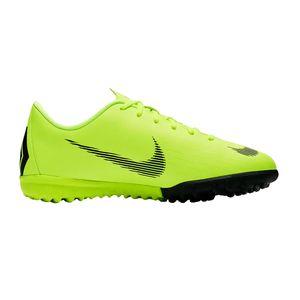 Nike Jr. MercurialX Vapor XII Academy - Kinder Fußballschuhe Multinockenschuhe - AH7342-701 gelb/schwarz
