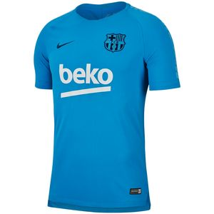 Nike FC Barcelona - Herren Squad Top Trainingsshirt Shirt - 894294-482 blau