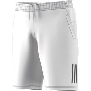 adidas Club 3 Stripes Short - Herren Tennishose kurze Hose - DP0302 weiß/schwarz