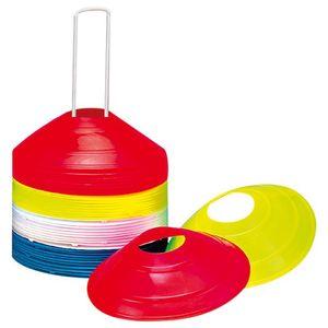 V3Tec Markierungskegel-Set - 40 Hütchen je 10 pro Farbe 1022897-9999 mehrfarbig
