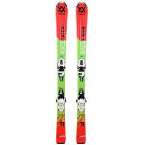 Völkl Racetiger Jr - Jugend Ski Skiset + 7.0 vMotion Jr Bindung - 18/19 rot/grün