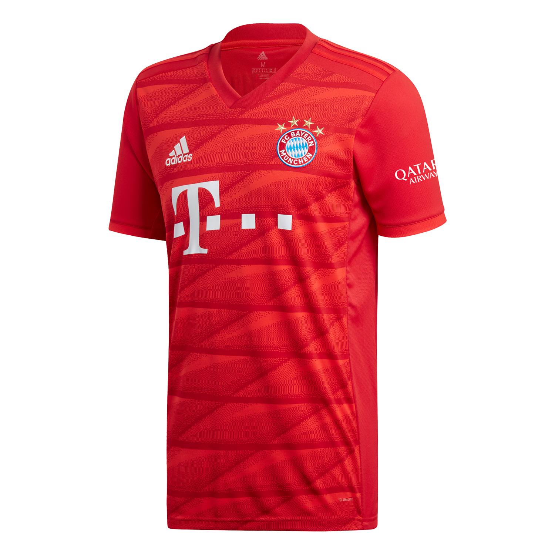 adidas FCB FC Bayern München Heim Trikot 1920 Home Jersey DW7410 rot