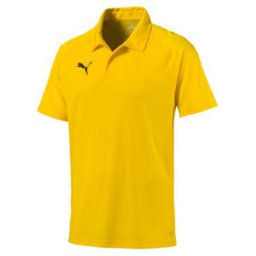 Puma Liga - Herren Sideline Polo Shirt - 655608-07 gelb