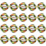 V3Tec Pitch - Fußball Trainingsball Ball - 20er-Set - 1020271-1135 weiß/orange/gelb 001