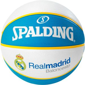 Spalding Euro League Real Madrid Basketball - Gr. 7 - 3001514012117 - blau/weiß/gelb