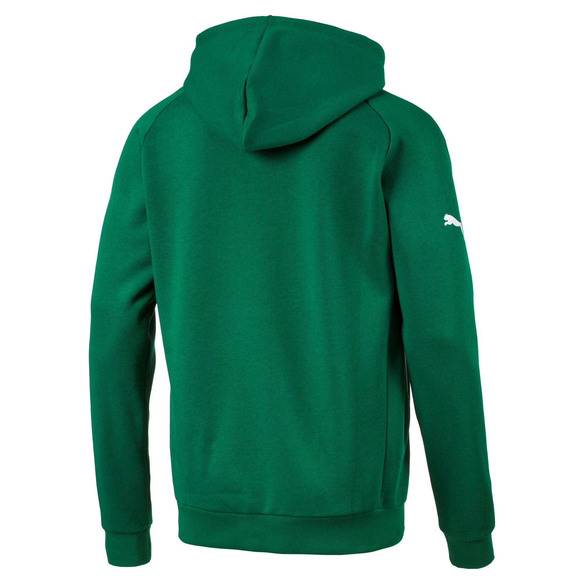 Puma Hoody Herren Kapuzen Pullover 653979 05 grün