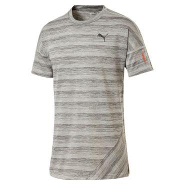 Puma Pace Shirt - Herren kurzarm T-Shirt - 517282-06 hellgrau