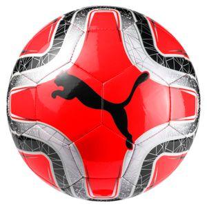 Puma Final 6 MS Trainer - Fußball Trainingsball - 082912-09 rot/schwarz