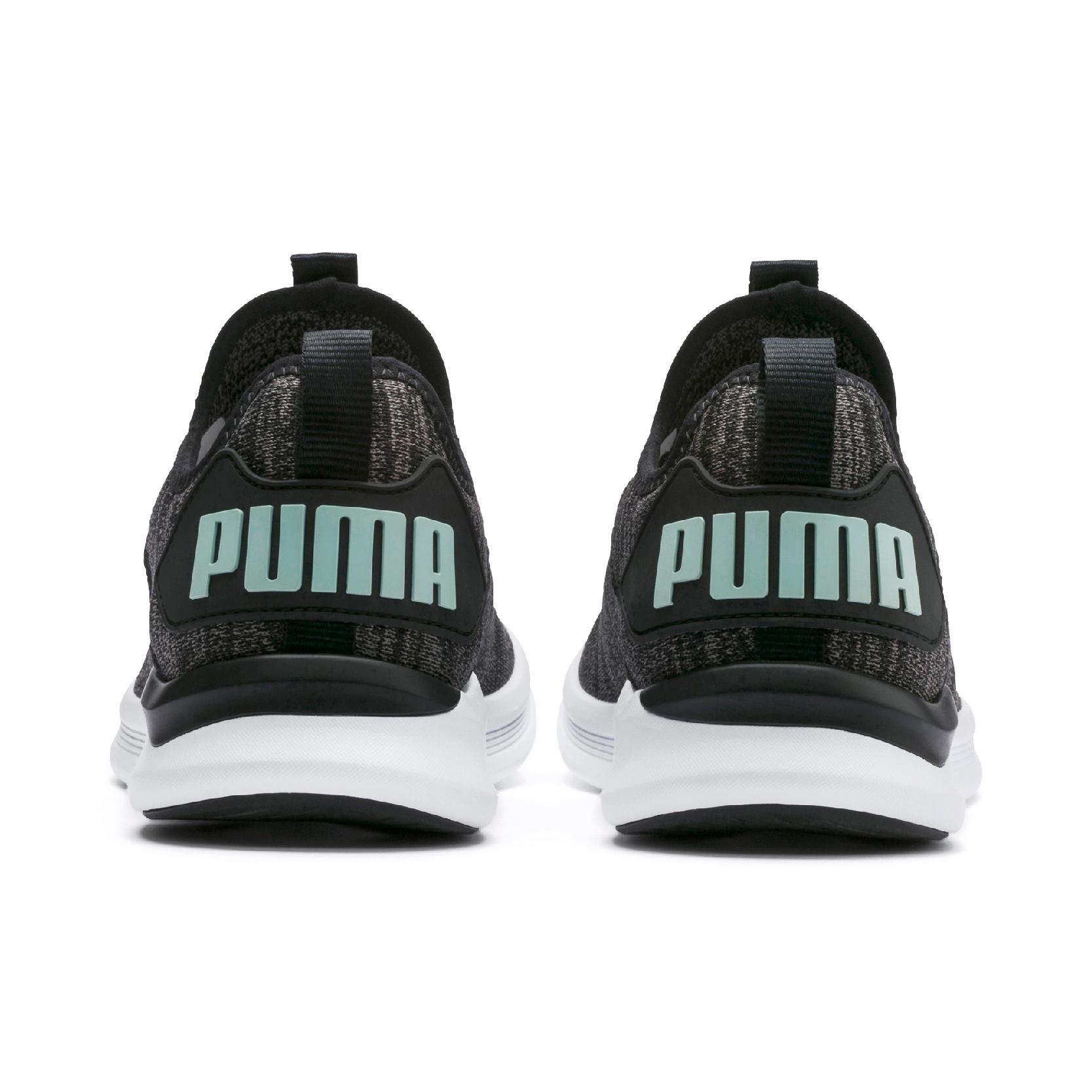 Puma IGNITE Flash EvoKNIT Fitnessschuh Herren Khaki, Schwarz