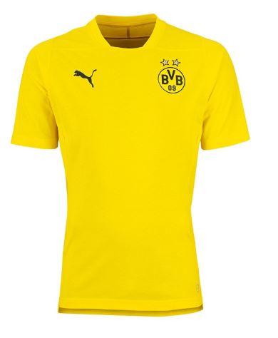 Puma BVB Borussia Dortmund Casual T Shirt Herren Shirt 753531 01 gelb