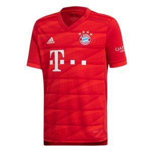 adidas FCB FC Bayern München Kinder Heim Trikot 19/20 Home Jersey Y - DX9253 rot