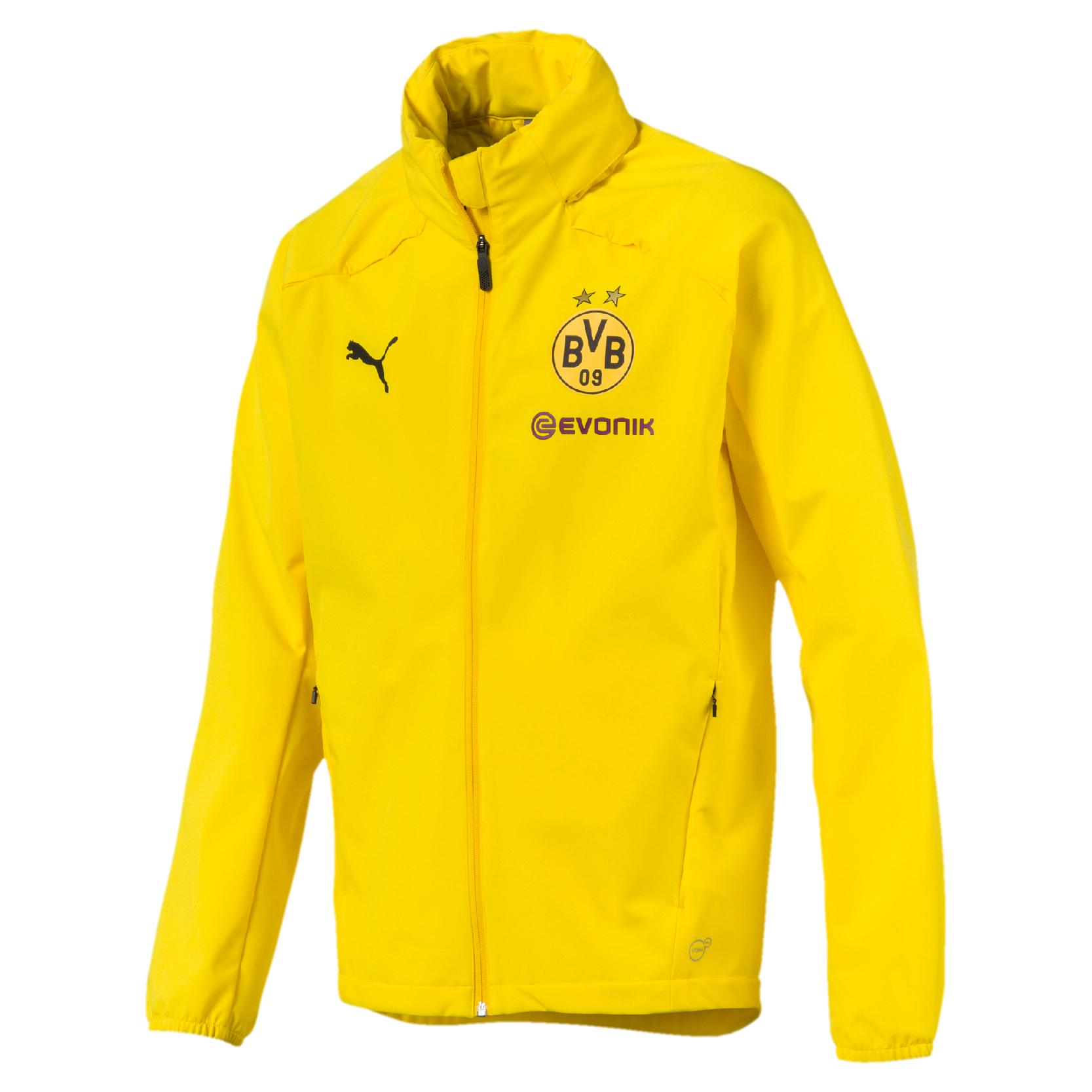 Puma BVB Borussia Dortmund Rain Jacket Herren Regenjacke
