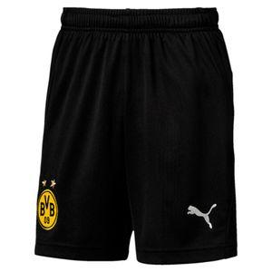 Puma BVB Borussia Dortmund Kinder Trainingsshort kurze Hose - 753498-02 schwarz