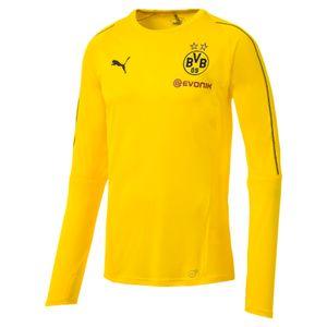 Puma BVB Borussia Dortmund HerrenTrainingsshirt langarm - 753361-01 gelb