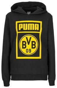 Puma BVB Borussia Dortmund - Kinder Shoe Tag Hoody Sweatshirt - 754060-02 schwarz