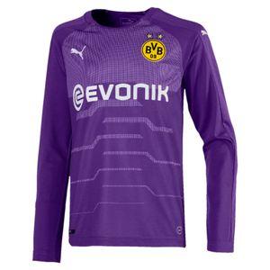 Puma BVB Borussia Dortmund Kinder Torwarttrikot Longsleeve 18/19 - 753327-05 violett