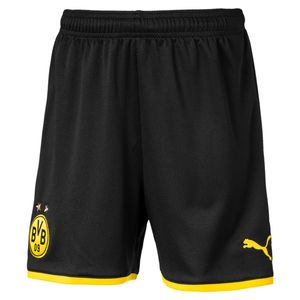 Puma BVB Borussia Dortmund - Kinder Short kurze Hose 19/20 - 755757-02 schwarz