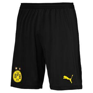 Puma BVB Borussia Dortmund Herren Promo evoKNIT Short Spielerversion 753302-02 schwarz