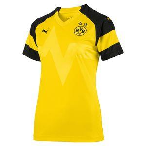 Puma BVB Borussia Dortmund - Damen Heimtrikot Home Shirt ohne Sponsor - 753332-01 gelb