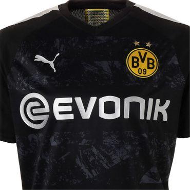 Puma BVB Borussia Dortmund - Herren Auswärtstrikot Away Jersey 19/20 - 755745-12 schwarz