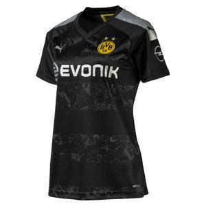 Puma BVB Borussia Dortmund - Damen Auswärtstrikot Away Jersey 19/20 - 755747-12 schwarz