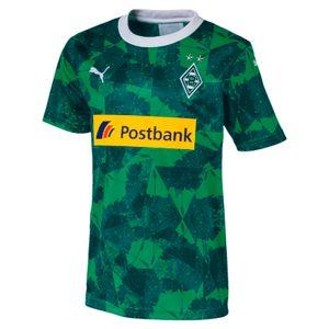 Puma BMG Borussia Mönchengladbach Kinder Ausweichtrikot 19/20 mit Sponsor Logo - 755720-02 grün