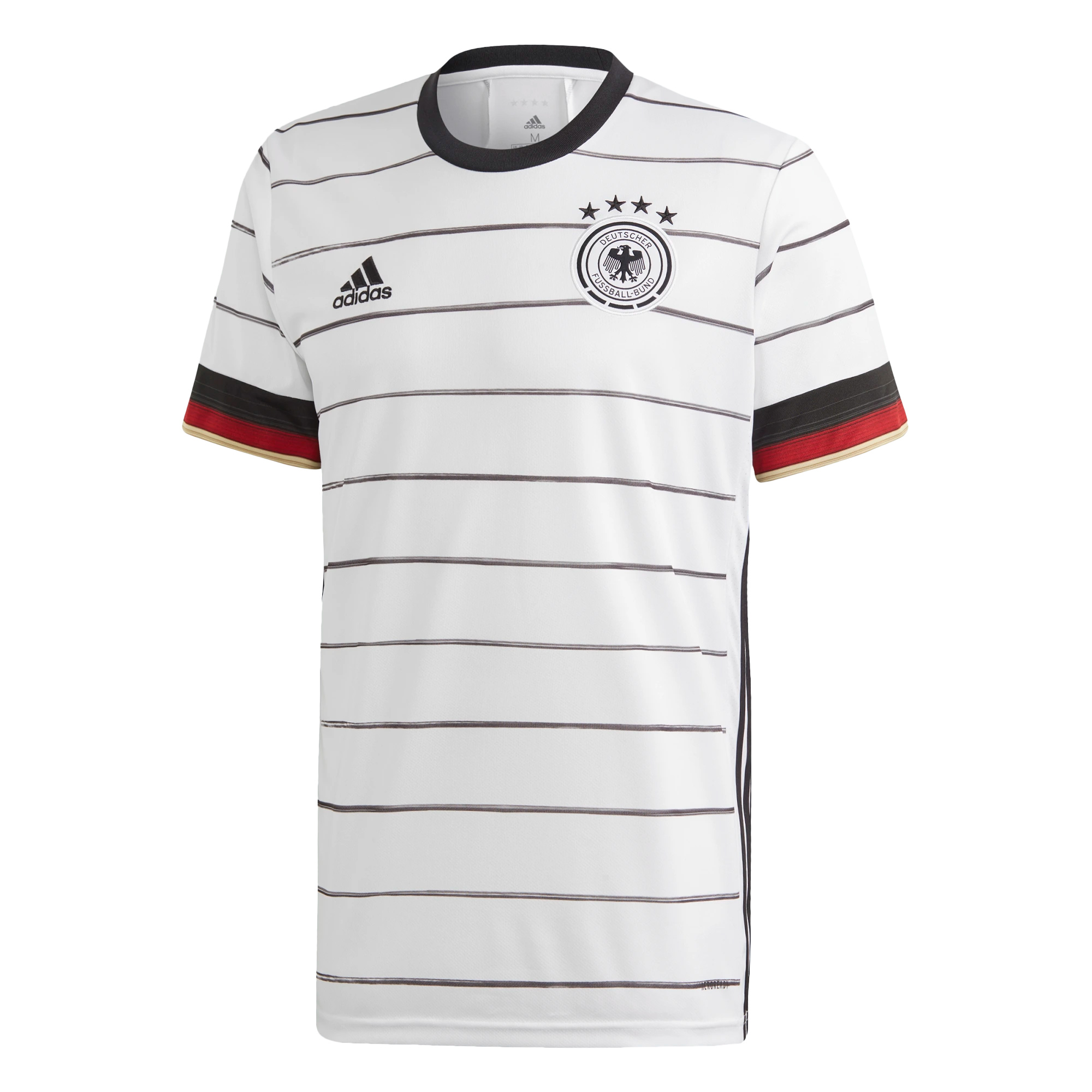 adidas DFB Authentic Trikot Home EM 2020 Herren weiß