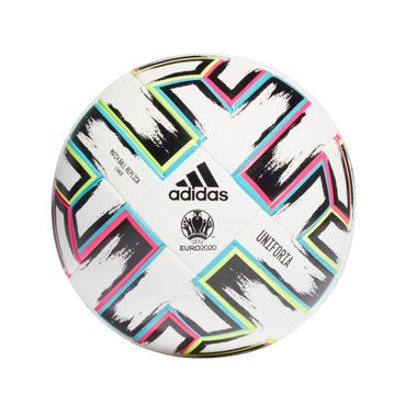 Adidas Uniforia Fussball Replica Em 2020 Fussball Trainingsball Fh7376 Weiss