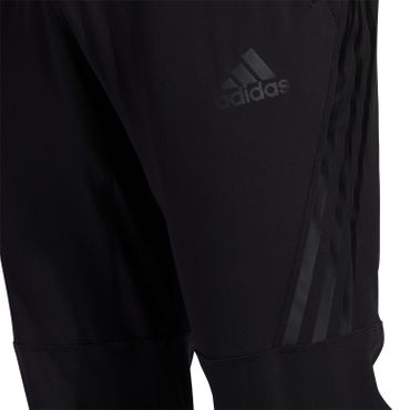 adidas Aeroready - Herren Woven 3 Stripes Trainingshose Jogging Pants - FJ6134 schwarz