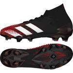 adidas Predator Mutator 20.1 FG - Herren Fußballschuhe Nockenschuhe - schwarz/rot 001