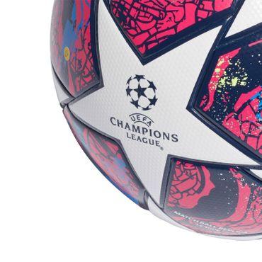 adidas UCL Finale Istanbul League Ball - Fußball Trainingsball - FH7340 weiß/rot/blau