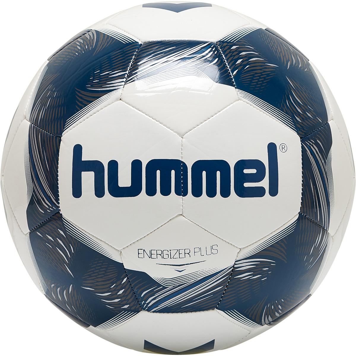 Hummel Energizer Plus Loyalitet – Fußball Trainingsball – 87588631-9109 weiß/blau