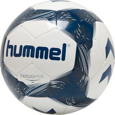 Hummel Energizer Plus Loyalitet - Fußball Trainingsball - 87588631-9109 weiß/blau
