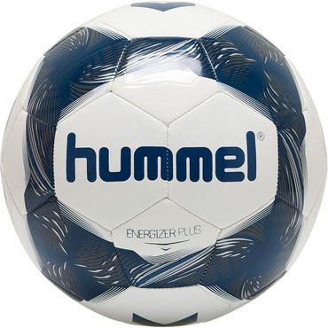 Hummel Energizer Plus Loyalitet 18er Set - Fußball Trainingsball - 87588631-9109 weiß/blau