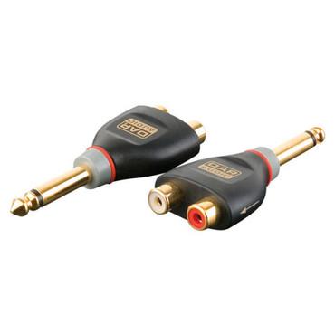 DAP-Audio XGA19 - Jack/M mono > 2 x RCA/F