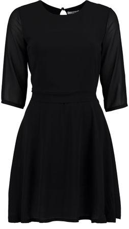 Hailys Damen Kleid Fine 3/4 Arm dress schwarz