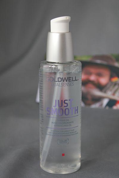 NEU Goldwell Dualsenses Just Smooth Bändigungs Öl 100 ml
