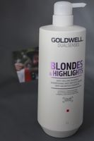 NEU Goldwell Dualsenses Blondes & Highlights Anti-Gelbstich Shampoo 1000 ml
