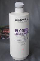 NEU Goldwell Dualsenses Blondes & Highlights Anti-Gelbstich Conditioner 1000 ml