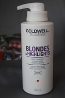 NEU Goldwell Dualsenses Blondes & Highlights 60Sek Pflegekur 500 ml