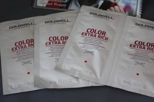 NEU Goldwell Dualsenses 3x Color Extra Rich Shampoo + Pflegekur á 10 ml Sachet