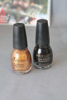Revlon Nagellack schwarz & gold Glitter je 15ml