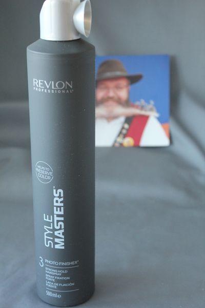 photo finisher hairspray style masters Revlon 500 ml Haarspray