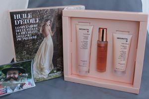 Medavita Huile d´Etoile Shampoo + mask + Glanzöl Geschenkpackung                                            – Bild 1