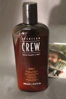 American Crew classic 3 in 1 shampoo 450ml